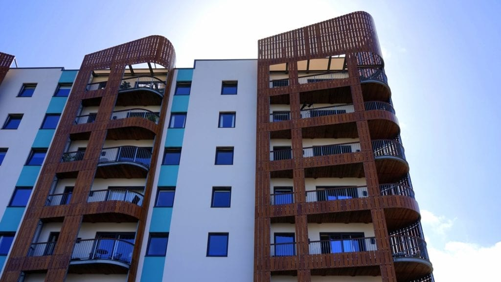 Insurance for apartment building
